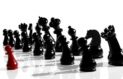 chess one against many