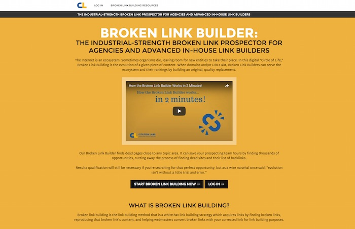 Broken Links Finder