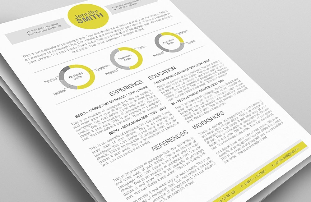 45-resume-template
