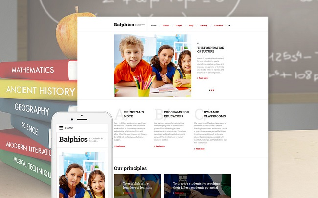 Balphics Joomla Template