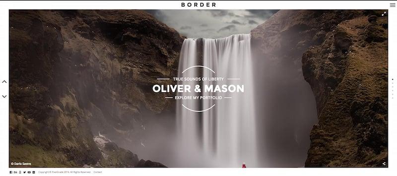border-photography-wordpress-theme