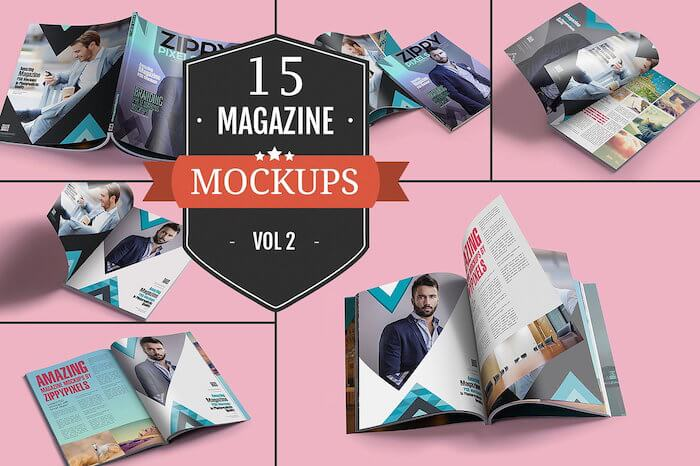 Awesome Magazine PSD Mockups