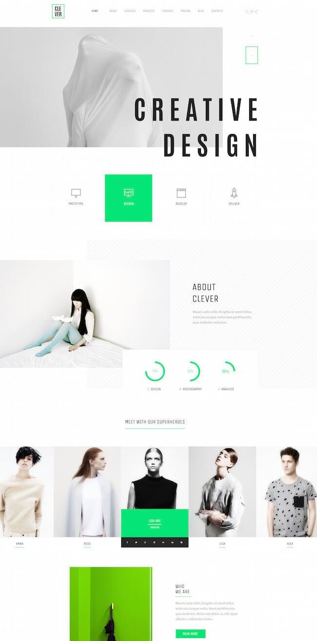 Creative and Design PortfolioTemplate