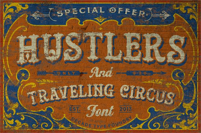 Hustlers Rough Demo Font