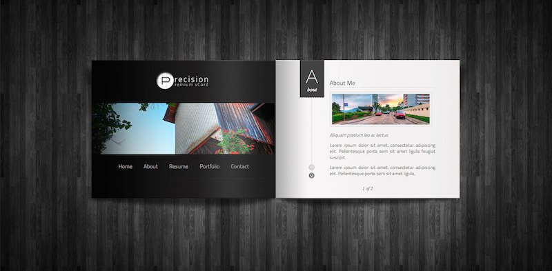 Precision WordPress Theme