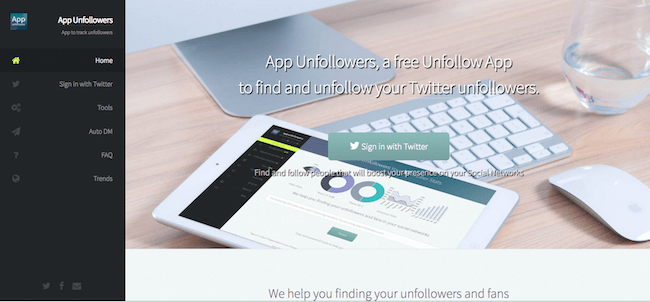 App Unfollowers
