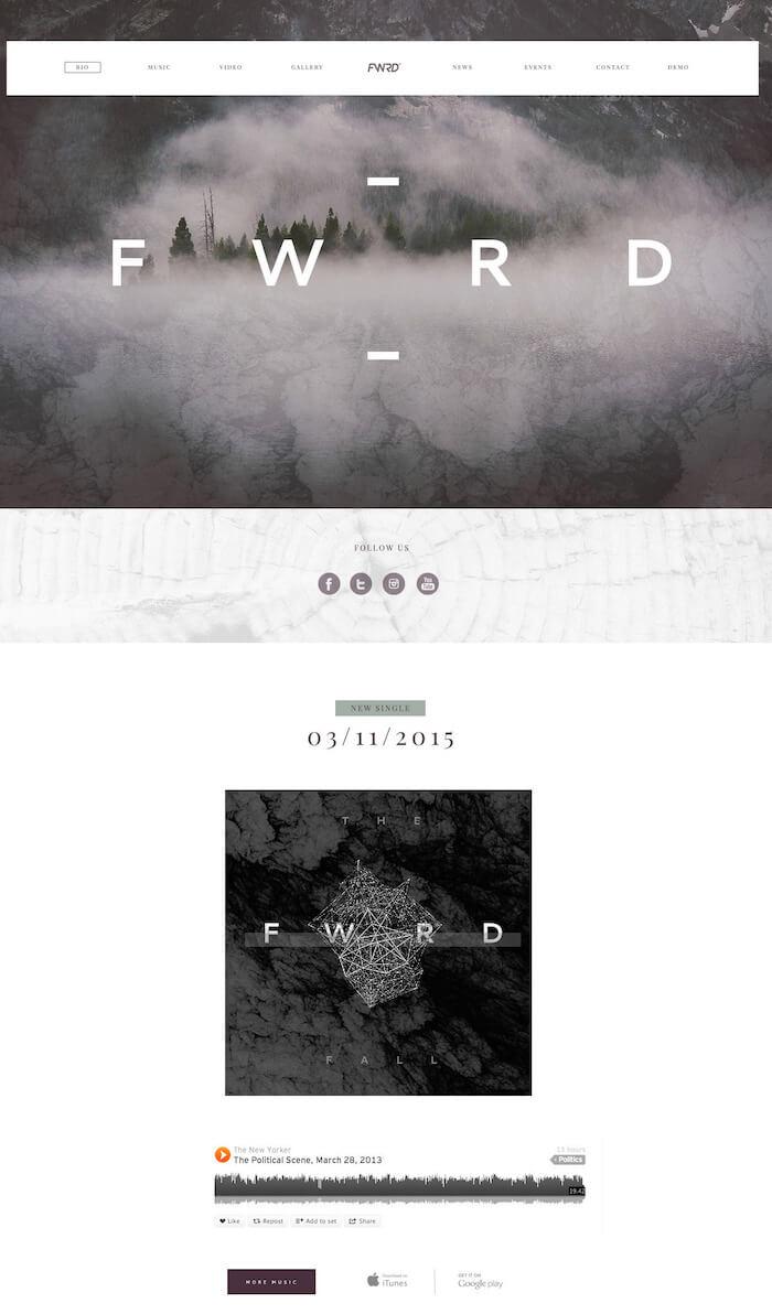 FWRD WordPress Theme