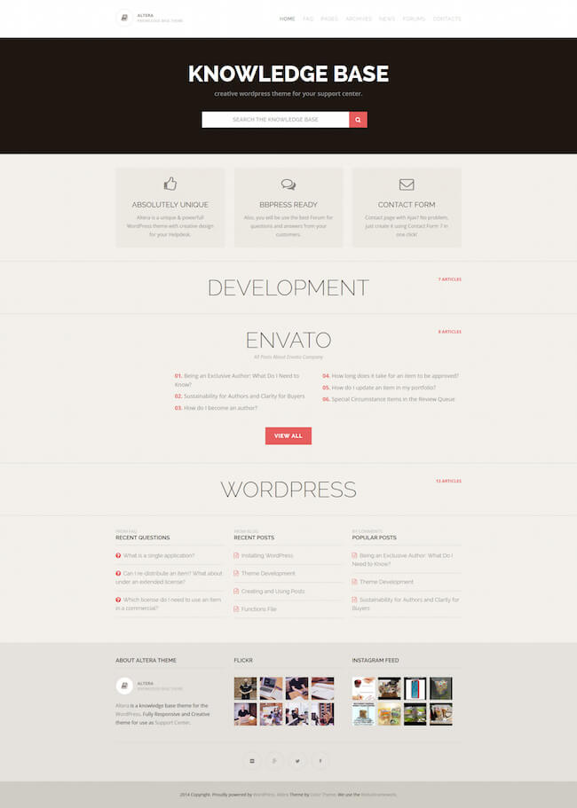 Altera WordPress Theme