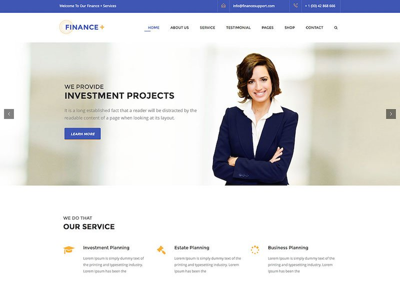 financeplus-consulting-company-wordpress-theme
