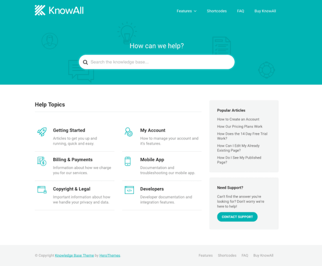 knowall wordpress theme