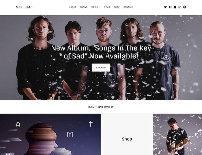 merchato-music-band-wordpress-template