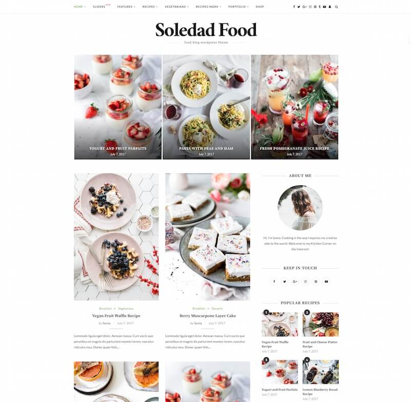 Soledad Multipurpose Theme