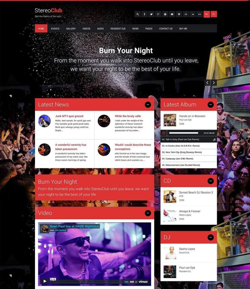 stereoclub-WordPress-theme