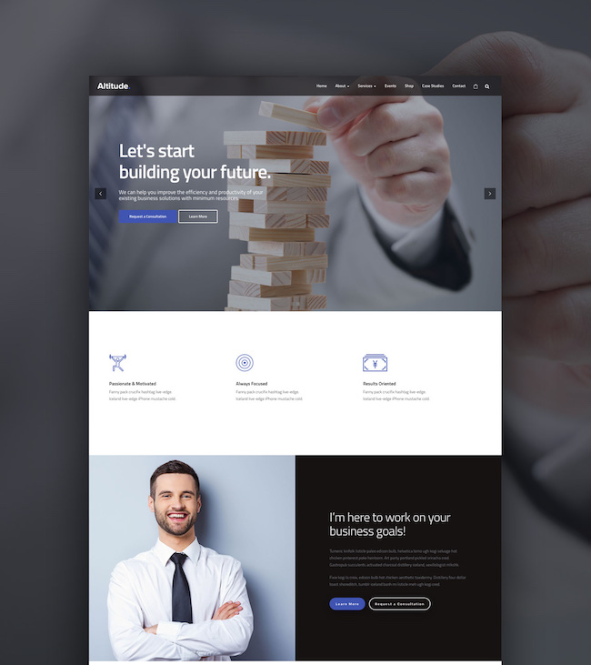 Altitude Business WordPress Theme