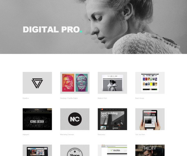 Biography Portfolio Joomla Template