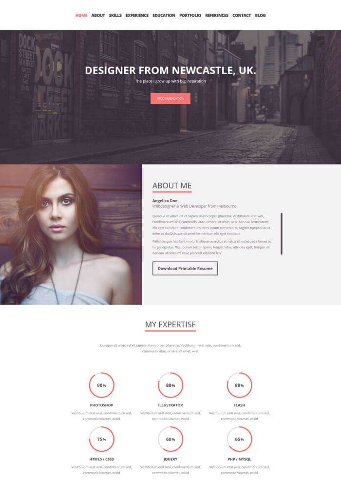 Folix JOOMLA Template