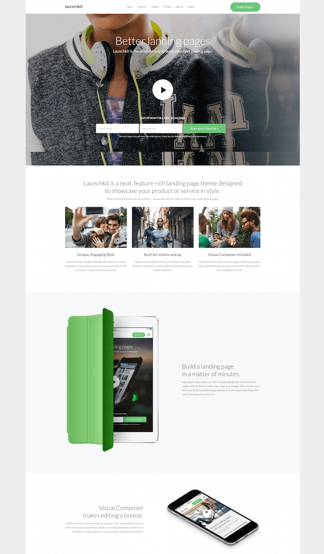 Launchkit WooCommerce Theme