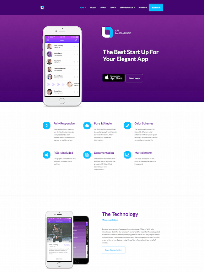 Ola WordPress Theme