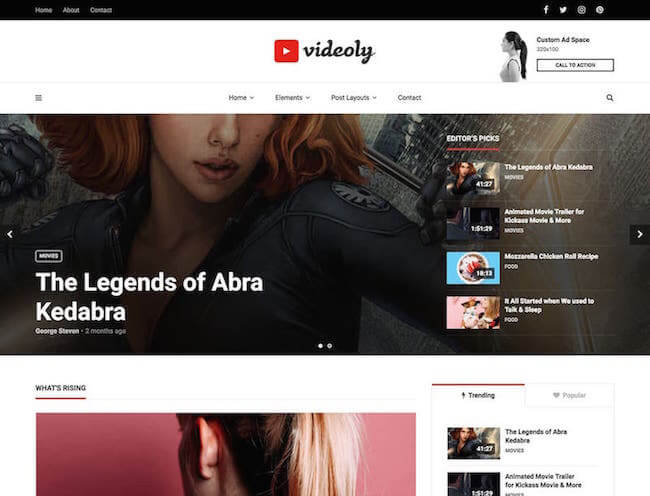 Videoly-Video-WordPress-Theme