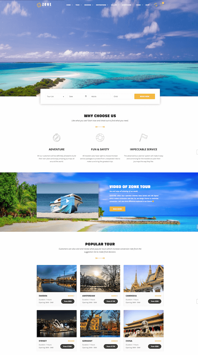 Zone WooCommerce Theme