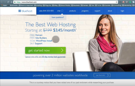 Get Free Domain Name from Bluehost