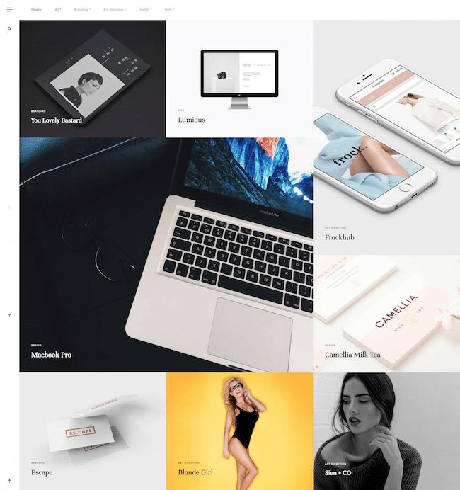 Nous Creative Portfolio Template