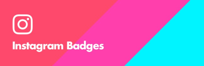 instagram badges