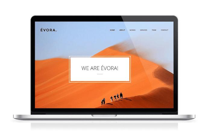ÉVORA Creative Theme