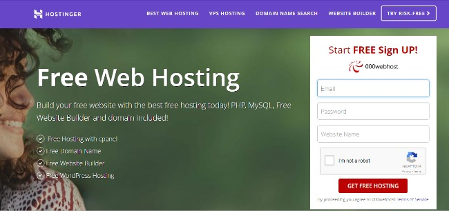 Best Free WordPress Hosting Providers