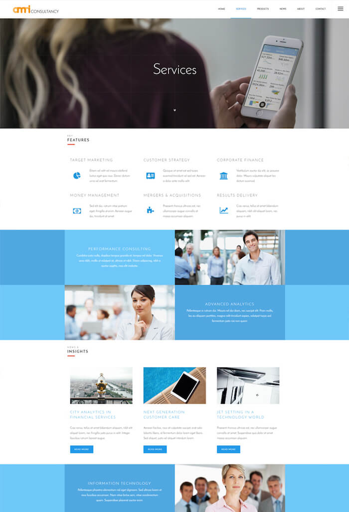 Omni Consultancy Multi-purpose Business Style Drupal 8 Theme