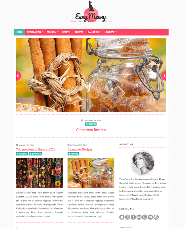 EenyMeeny WordPress Theme