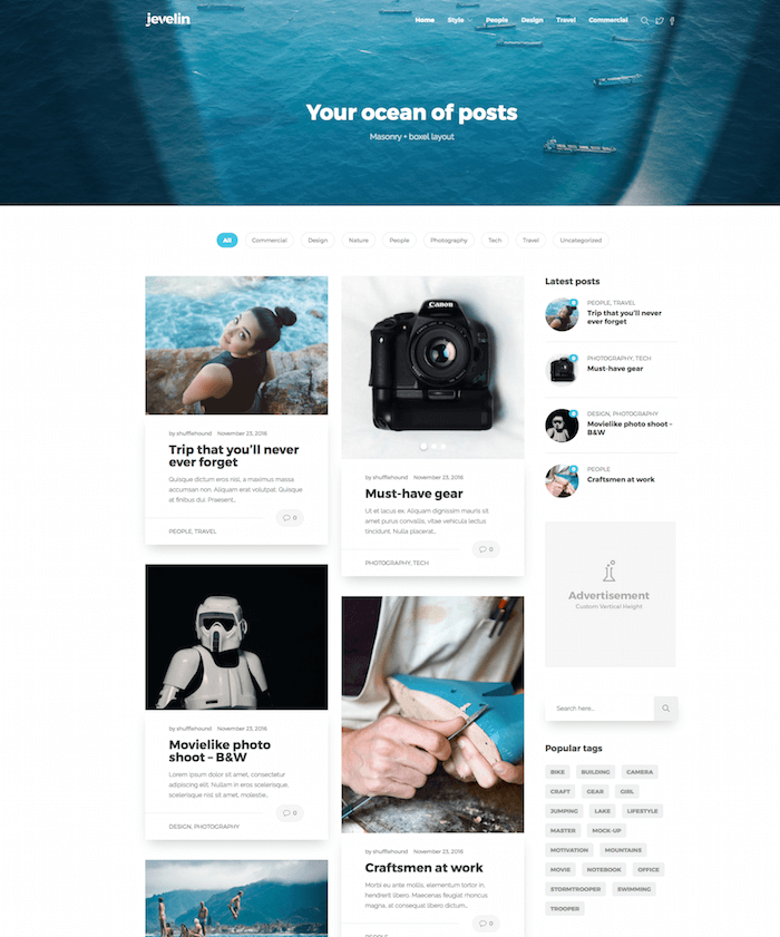 Jevelin Multi-Purpose Premium Theme