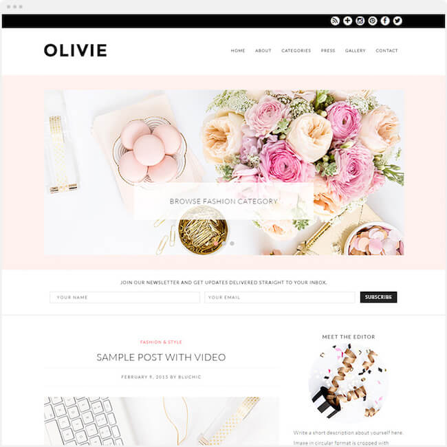 olivie-wp-theme