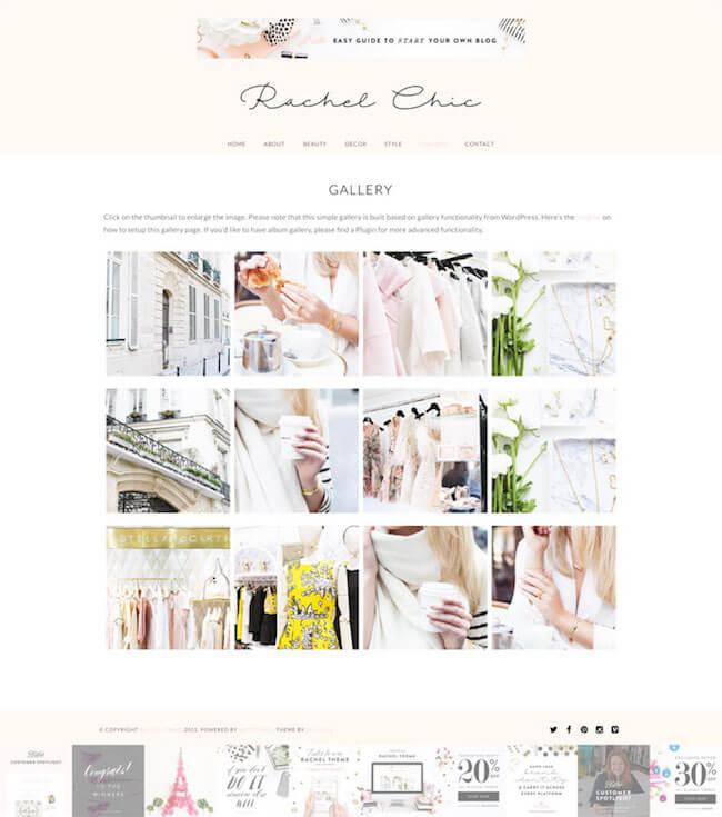 rachel-wordpress-theme