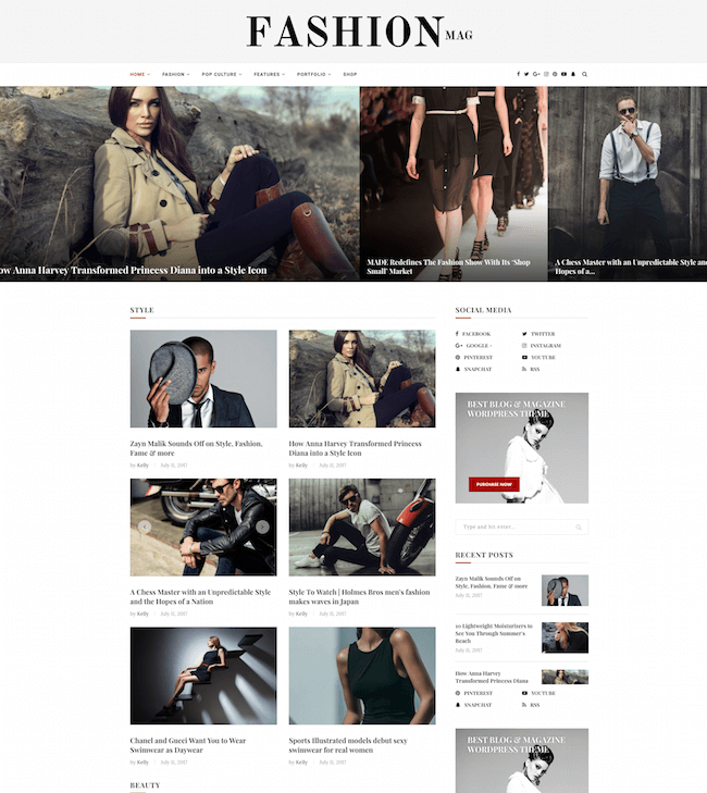 Soledad Magazine WP Theme