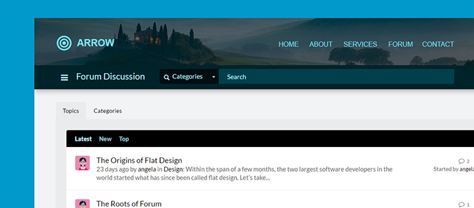 Forums by Website Toolbox