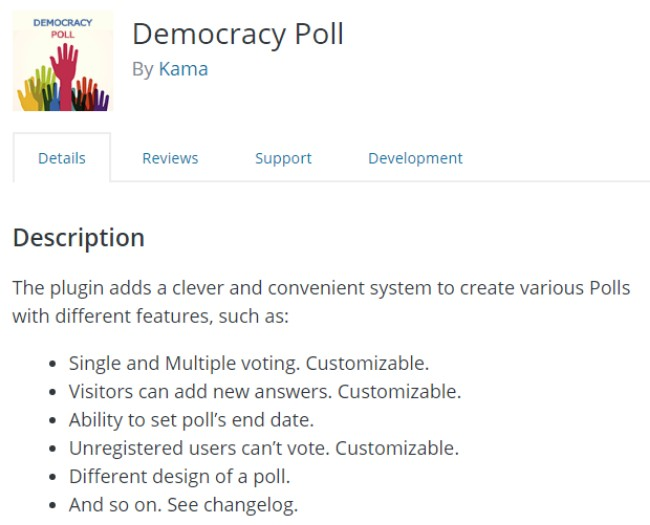Democracy Poll