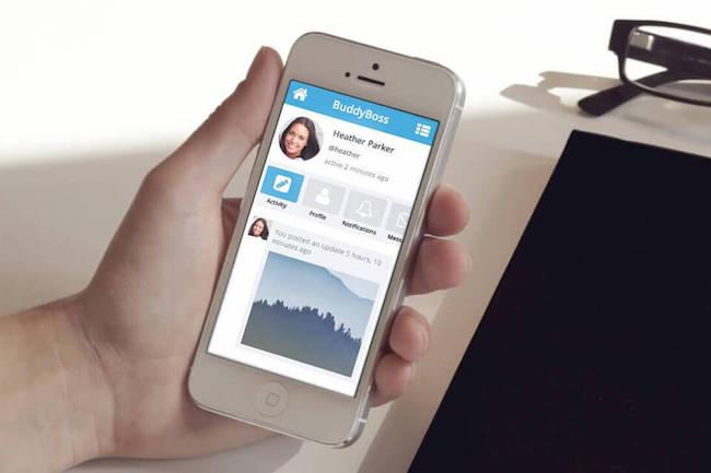 BuddyBoss-Mobile-Only-Theme