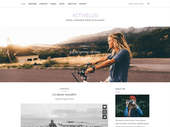 Activello Free WordPress Theme