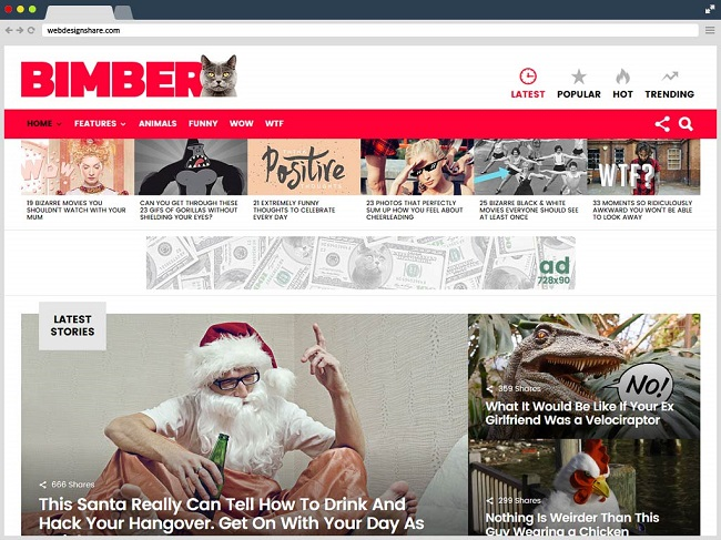 Bimber-Viral-Wordpress-Theme