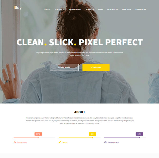 Illdy Free WordPress Theme