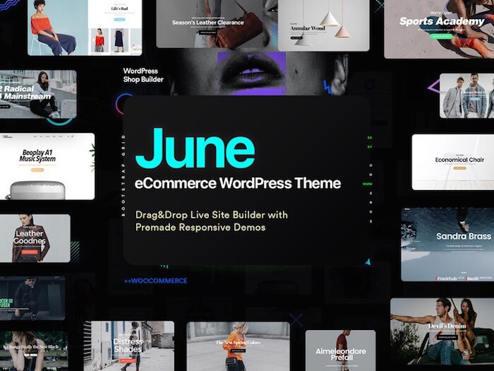 june-creative-ecommerce-wordpress-theme