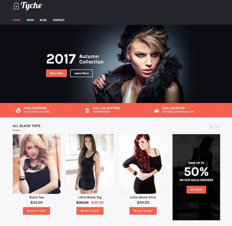 tyche-free-woocommerce-wp-theme