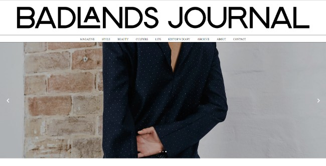 badlands journal