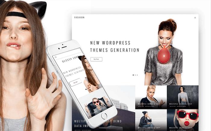 Glossy-Look-BuddyPress-Theme