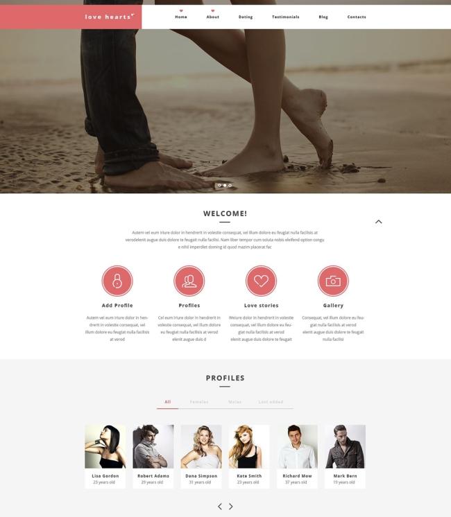 Love-Hearts-WordPress-Theme