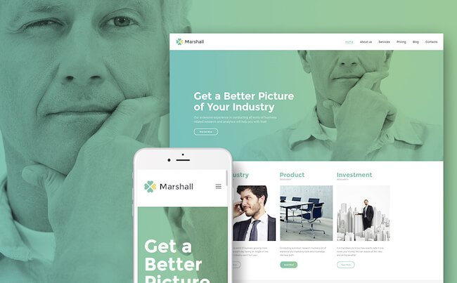 Marshal affiliate agency theme