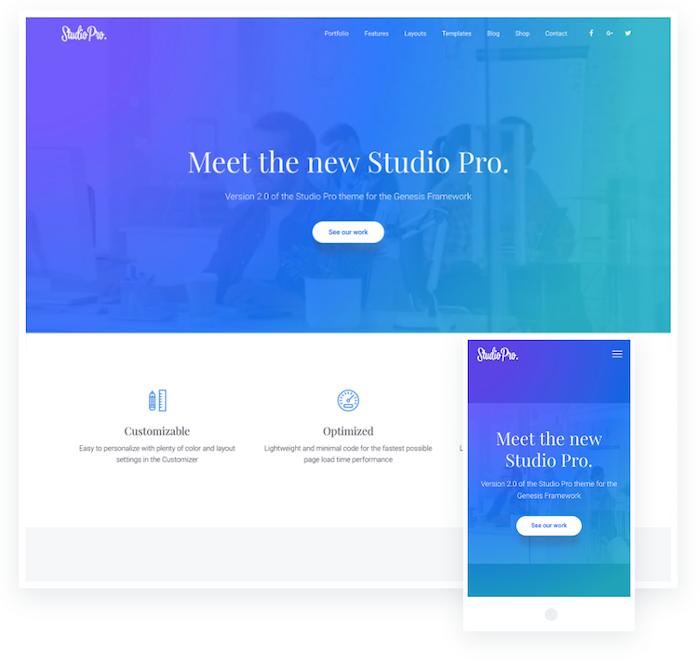 Studio Pro Theme