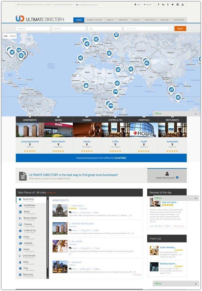 Ultimate-Directory-Responsive-WordPress-Theme