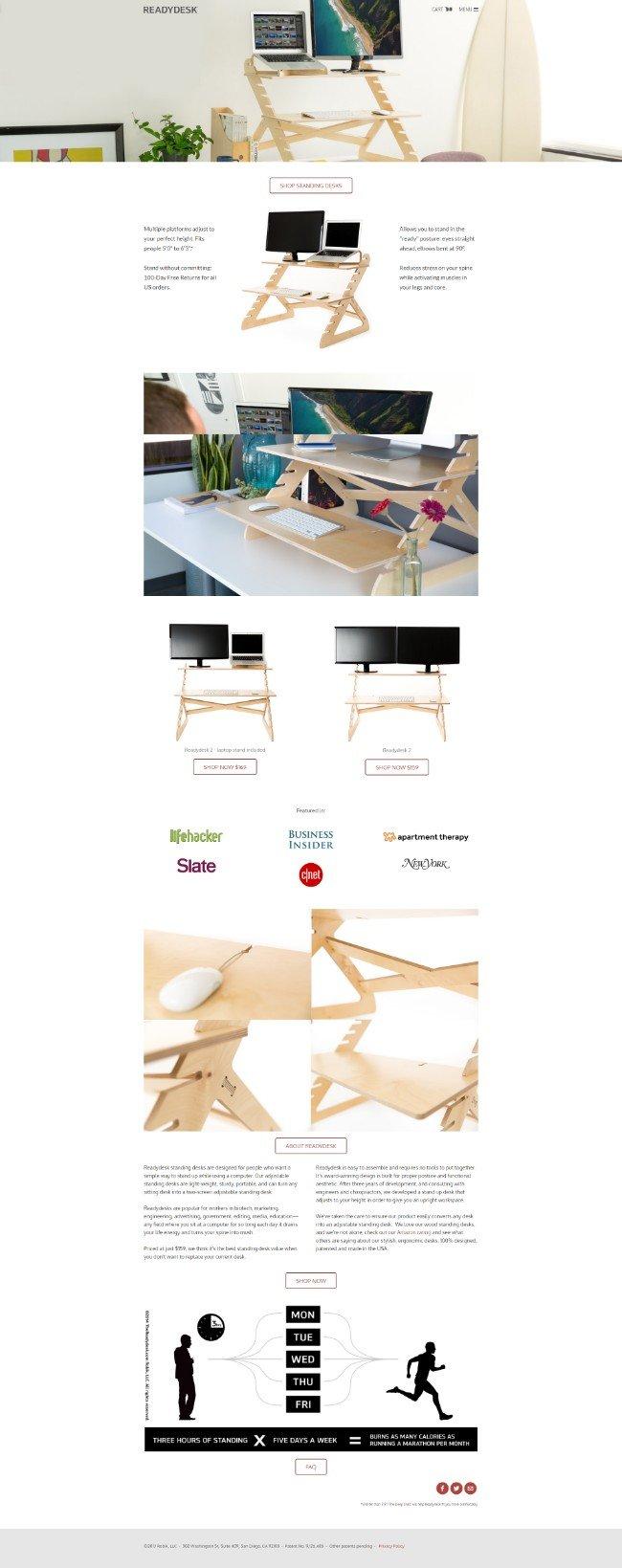 the ready desk